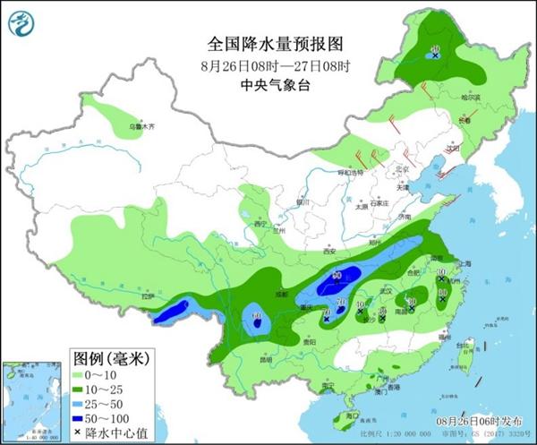 江漢黃淮強降雨再起 江南華南熱如大暑