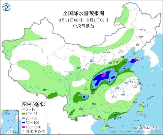 陜西河南等地降雨持續 南方高溫頻現