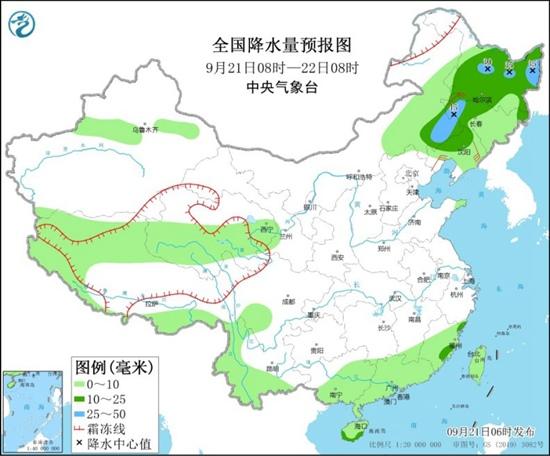 中秋节大部地区宜赏月 新一轮降雨将袭