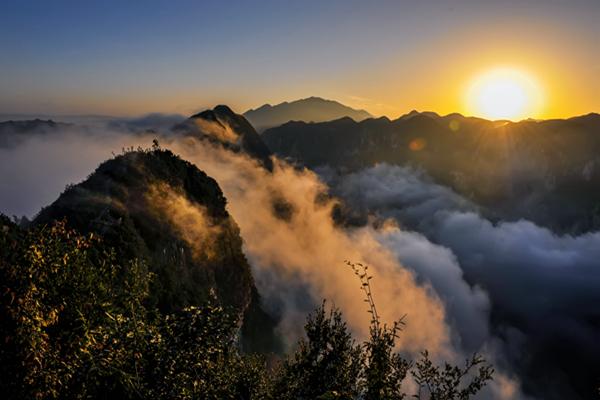中国天然氧吧推介——龙缸景区