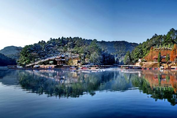 中國氣候康養地——江津四面山