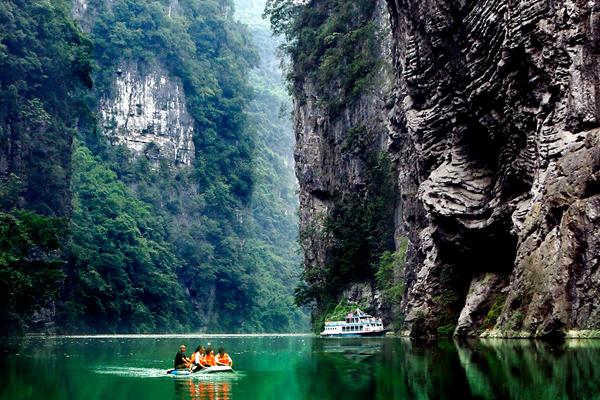 中国清新清凉峡谷城——黔江区