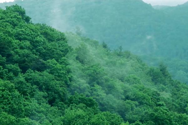 中国天然氧吧——重庆石柱县