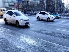 辽宁迎入冬来最大范围降雪 路面结冰出行受阻