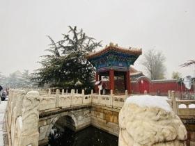 雪中太廟 細品京城別樣韻味