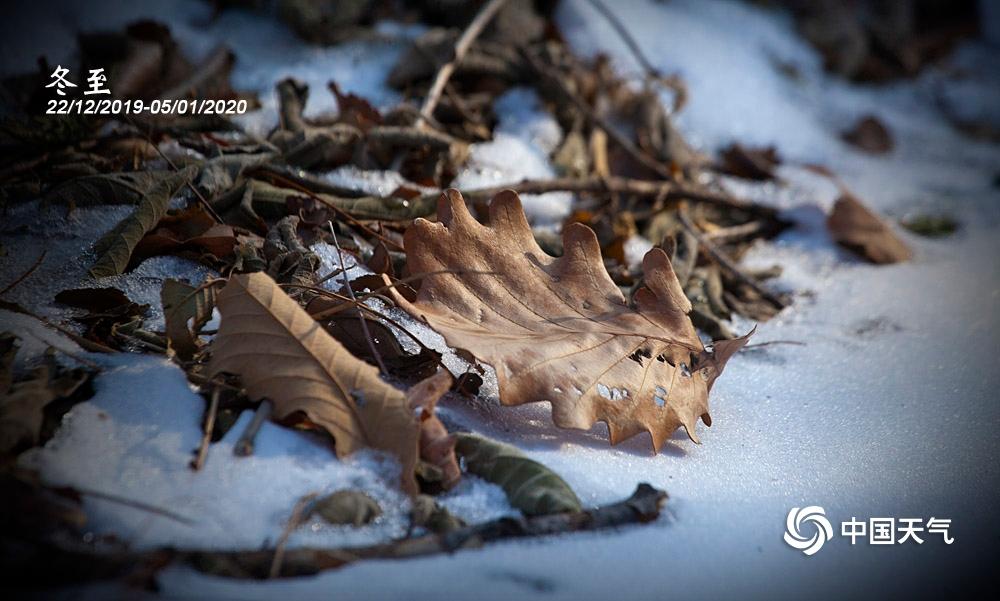 冬至 冰雪封冻入数九