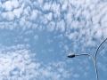 抬头看!北京天空出现鱼鳞云 层层叠叠蔚为壮观