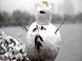 雪花片片随风舞 西安大明宫国家遗址公园雪景迷人