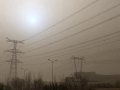 """北京城區空氣質量全面""""爆表"""" 今天白天仍是沙塵主要影響時段"""