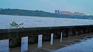 長江瀘州段迎今年來最大洪峰