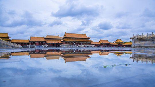 紫禁城600年 看四季轮转中的景象万千