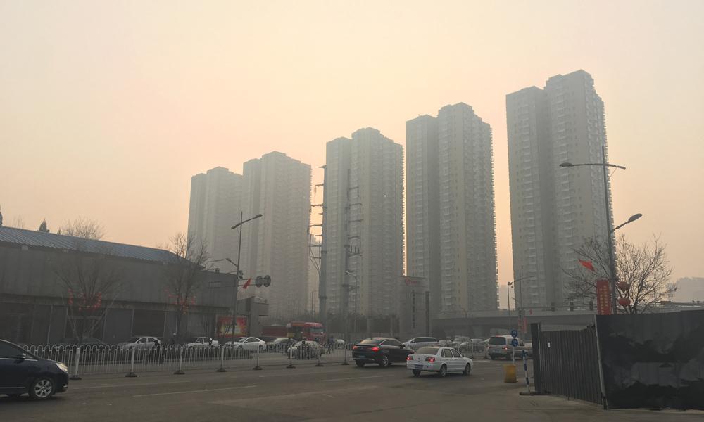 山西雾和霾齐袭 周日空气质量好转