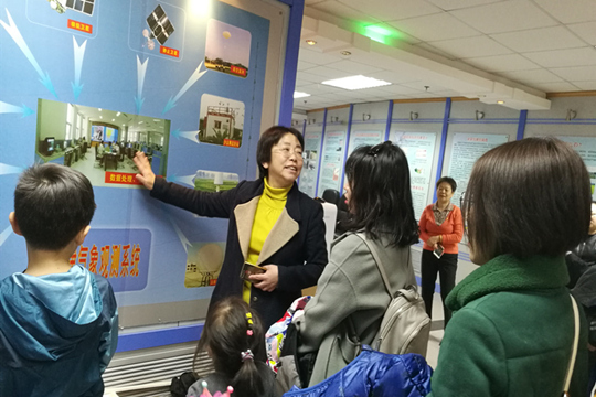 天津市气象局开展世界气象日参观活动