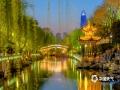 济南护城河春色。(图/李峰 文/王连珍)