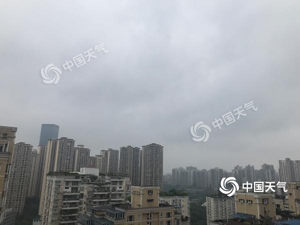 重庆今天阴雨持续 明后天气转晴宜出游