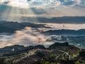云雾深处有人家 重庆南川平流雾美景似仙境