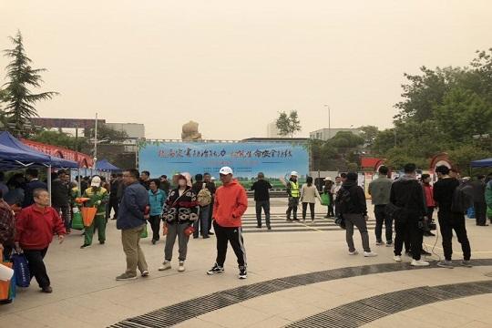 甘肃多部门联合开展防灾减灾科普宣传活动