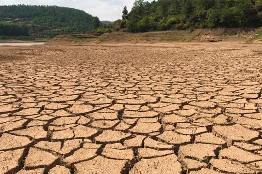 河流枯竭池塘干涸 云南干旱现场触目惊心!