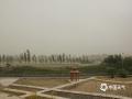 中国钱柜娱乐777天气网讯 5月14日下午,甘肃敦煌遭遇大风沙尘天气袭击。截止17时,辖区内最大风速达26.3米/秒,大风裹挟沙尘导致当地空气质量急剧下降,天昏地暗,局地能见度不足500米。(文/李超红 图/朱永锋)