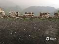 中国天气网讯 昨天(15日)傍晚到夜间,河北承德、唐山等地先后遭遇冰雹天气。据当地群众介绍,冰雹的个头犹如核桃般大小,最大的跟鸡蛋一般大,持续时间差不多十多分钟。此次冰雹天气,造成两地不少树木、果树受损,截止目前灾情还在调查核实当中。图为昨天17时许,冰雹袭击承德滦平县金山岭长城。(图/周万平 刘满仓)