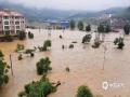 中国天气网讯 5月15日20时-16日10时,福建三明市区累积降水量186.2毫米,打破当地日降水量极值纪录。强降雨导致三明部分地区出现内涝滑坡等灾害。(图/庄亮 文/万灵)