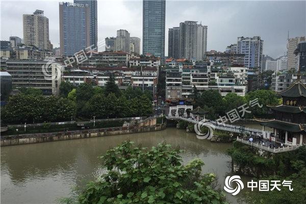 贵州昨日最大降雨量218.9毫米  织金河超警戒水位0.73米