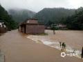 世界杯手机投注平台天气网讯 6月9日,江西的强降雨向南转移,吉安、抚州、赣州多地遭遇暴雨和大暴雨,信丰、大余、宁都、全南累计雨量超过100毫米。多地城镇和农田被淹、道路塌方,防汛压力重大。图为宁都县会同乡河水暴涨淹没道路。摄影/张军