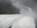 世界杯手机投注平台天气网讯 6月9日,江西的强降雨向南转移,吉安、抚州、赣州多地遭遇暴雨和大暴雨,信丰、大余、宁都、全南累计雨量超过100毫米。多地城镇和农田被淹、道路塌方,防汛压力重大。图为6月9日黎川县龙头寨水库泄洪场景。摄影/沈奕峰