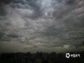 中国天气网讯 今天(10日)上午10时左右,南宁天空乌云密布,上演了好莱坞大片级别的黑云压城,同时还下起了小雨。据南宁气象台10日08时51分发布预报,预计未来5小时,南宁城区有小到中雨局部暴雨。大家出行的时候一定要注意做好防范。(文/曹钰佳 图/韦坚)