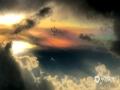 """""""赤橙黄绿青蓝紫,谁持彩练当空舞"""",昨天(12日),广西南宁、崇左扶绥降雨过后,天空放晴彩虹悬挂天际十分惊艳。另外在南宁的师范大学五合校区上空还出现了罕见的七彩祥云,大约持续了1小时。图为南宁上空拍到的彩云。(摄影/陈设广 文/郁海蓉 莫保结)"""