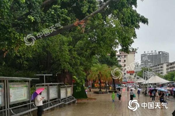 强降雨缓解攀枝花40度高温天气 27到28日全省有强降雨天气