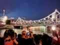 """天津解放桥""""七一""""献礼  盛装开启夜太美"""