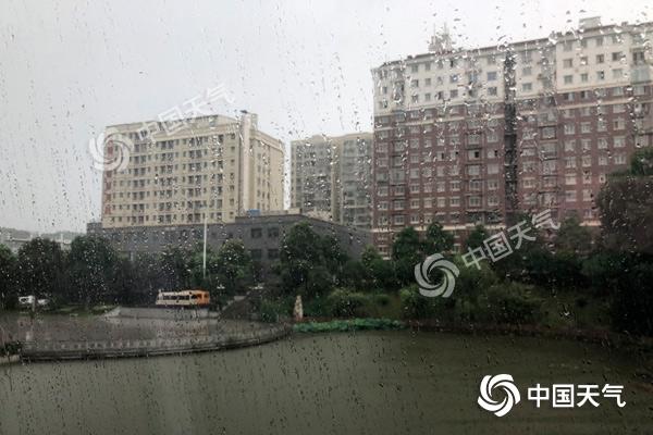 7~10日湖南有强降雨过程 并伴有短时强降水、雷暴大风等强对流天气