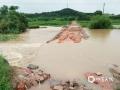 中国天气网讯 6日以来,强降雨连番袭扰江西,昨天(8日)宜春、新余、吉安、抚州、鹰潭和上饶市出现大暴雨,萍乡甚至遭遇了特大暴雨。连续降雨导致多地内涝严重、河水上涨,市民出行困难。图为南城县龙湖镇严和武家排路被冲毁。(图:李友根)