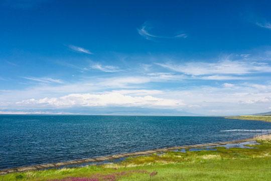 青海湖处处皆风景 令人心旷神怡