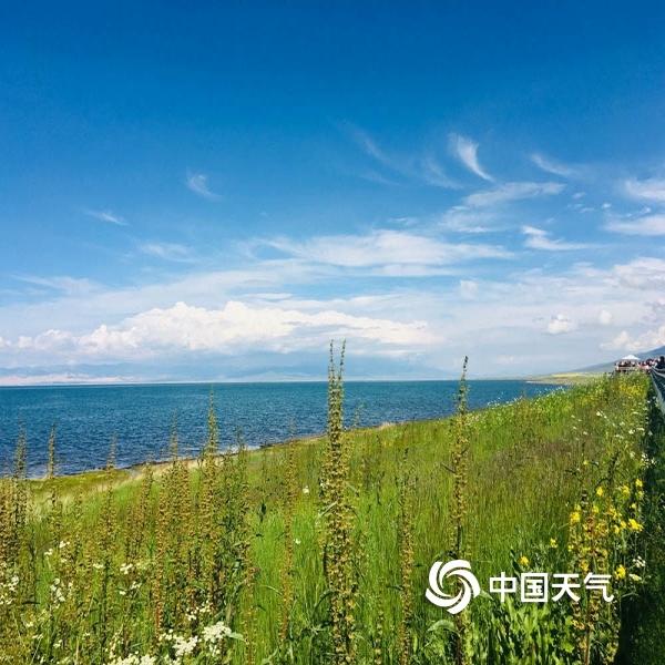 青海湖处处皆风景 令人心旷神怡-图片-中国天气网