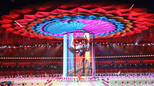 二青会:世界杯手机投注平台首场5G直播大型运动会开幕式震撼上演