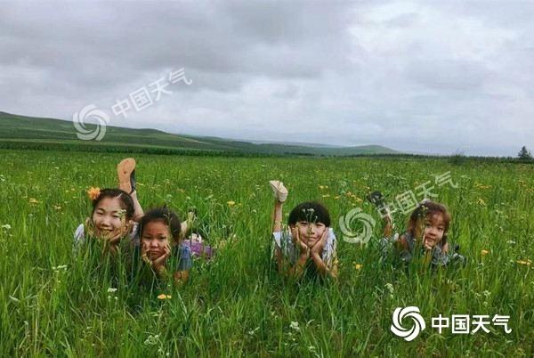 内蒙古降水持续跟进牧草疯长 明日中东部有新一轮强降水