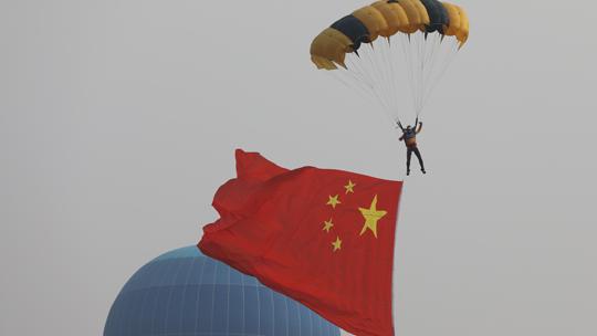 2019尧城(太原)国际通用航空飞行航展举行