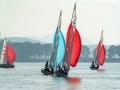 军运会帆船比赛完美收帆