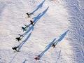 河北遵化冰雪运动升温 市民滑雪度周末