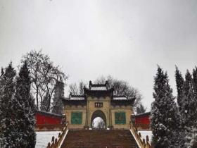 雪中的太原永祚寺 靜謐古樸