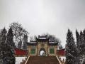 雪中的太原永祚寺 静谧古朴