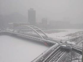 河北迎大范圍降雪天氣 今早全省高速公路關閉