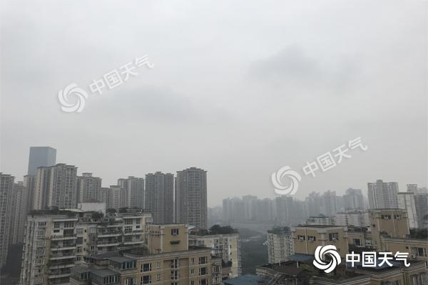 重庆持续阴雨雪 气温下滑 注意出行安全