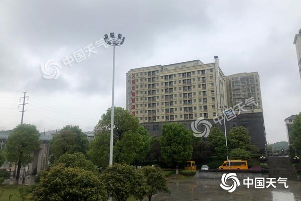 今明两天湖南雨势猛烈  株洲湘潭等地有暴雨
