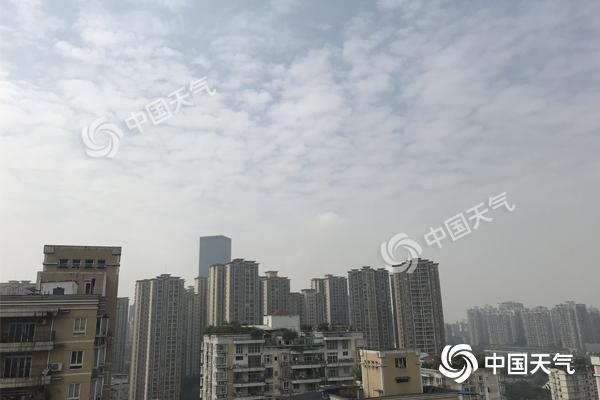 重庆春阳回归升温 9日全市最高温可达29℃