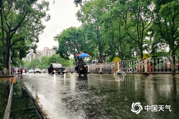 湖南今明天有强降雨过程 怀化、邵阳等局地大暴雨