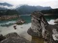 重庆黔江小南海水位下降  地质奇观露真容