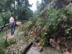 四川内江威远县遭受暴雨袭击 部分乡镇受灾
